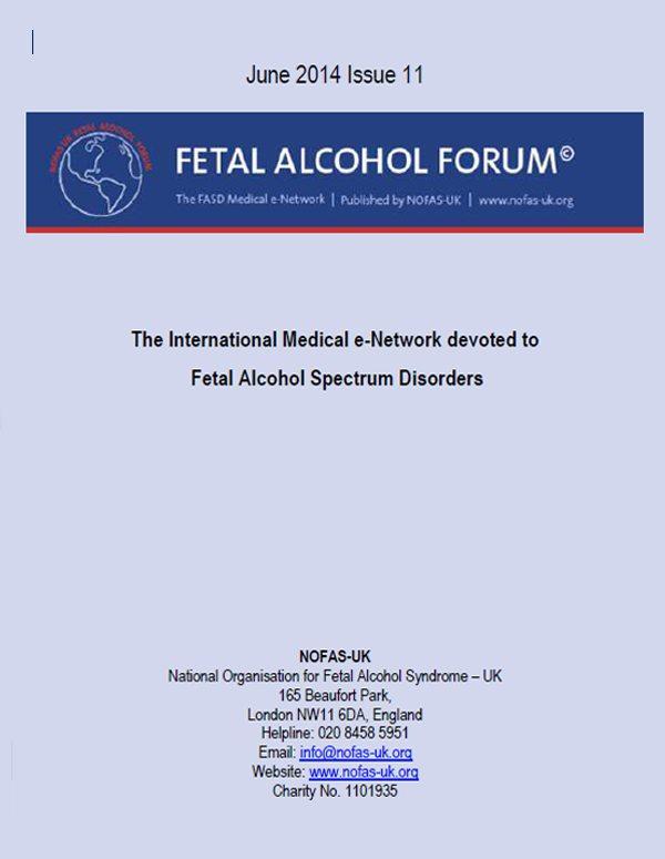 Fetal Alcohol Paper