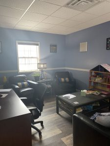 New Milford office with play area